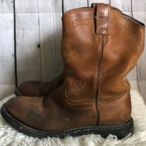 Ariat men's leather work boots